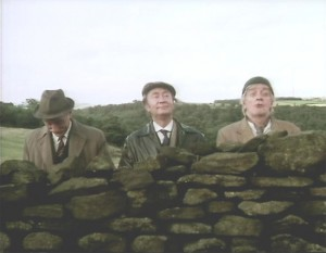 A not-so-dry stone wall!
